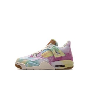Air Jordan 4 X Levis Retro Denim Tie-Dye Veelkleurig AO2571-102 Heren