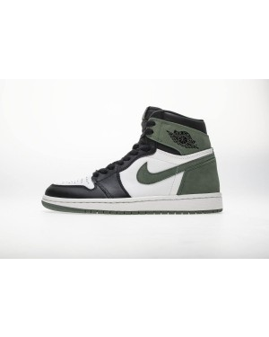 "Air Jordan 1 OG High Retro ""Clay Groen Zwart"" 555088-135 Heren NlAirJordan0936-10"