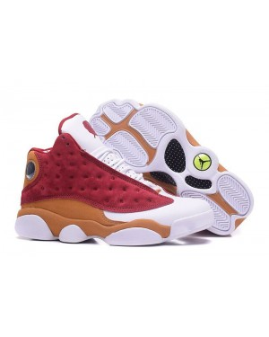 "Air Jordan 13 Retro Premio ""BIN 23"" Team Rood/Desert Clay-Wit voor heren NlAirJordan0268-10"