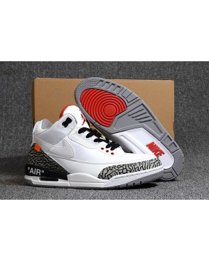 "Off-White x Air Jordan 3 ""Wit Cement"" voor heren NlAirJordan0359-11"