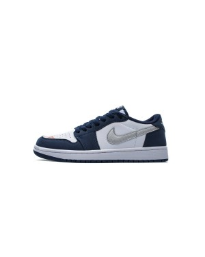 Nike SB X Air Jordan 1 Low Eric Koston Midnight Marinha CJ7891-400 Homens