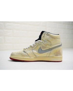 Nigel Sylvester x Air Jordan 1 Retro High Sail Homens PtAirJordan0119-10