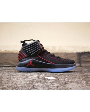Air Jordan 32 'MJ Day' Negro/Rojo Universitario Para Hombre