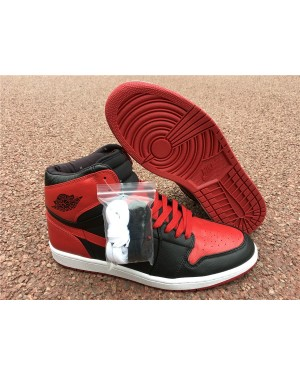 "Air Jordan 1 Retro High Ban ""Banned"" 432001-001 Para Hombres"