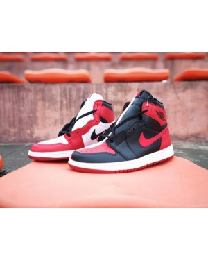 "Air Jordan 1 Retro High OG ""Homage To Home"" Negro/Blanco-Rojo universitario para hombre"