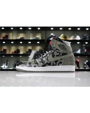 Air Jordan 1 Retro High Shadow Camuflaje para Hombres