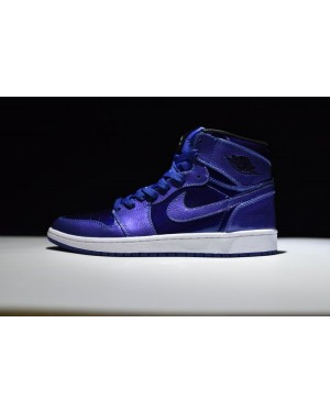 Air Jordan 1 Retro High Deep Royal Azul 332550-420 Para Hombres EsAirJordan0060-10
