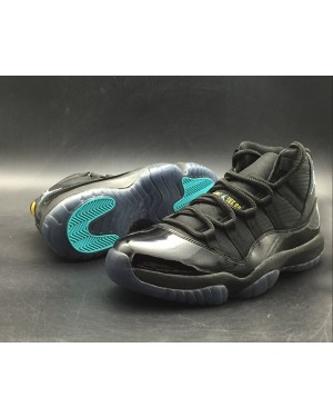 "Air Jordan 11 Retro ""Gamma Blue"" Black/Gamma Blue-Varsity Maize For Men and Women AirJordan0182-21"