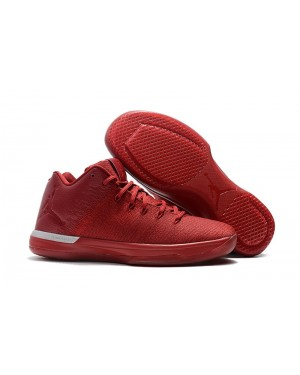 Air Jordan 31 Low 'Chicago Away' Gym Red/Action Red-Chrome For Men