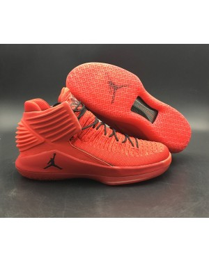 Air Jordan 32 Rosso Corsa Gym Red/Black AA1253-601 For Men AirJordan0357-10