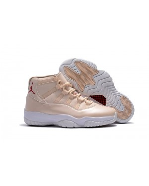 "Air Jordan 11 ""Maroon"" Beige White For Men AirJordan0185-11"