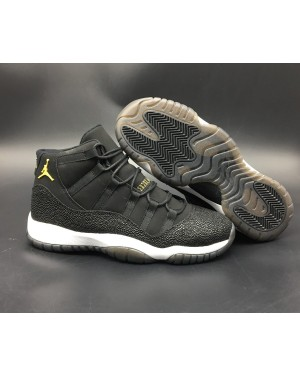 Air Jordan 11 PRM Heiress Black Stingray 852625-030 For Men and Women AirJordan0181-11