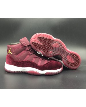 Air Jordan 11 Red Velvet Night Maroon 852625-650 For Men and Women AirJordan0186-11