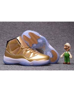 Air Jordan 11 Retro Gold White For Men AirJordan0192-11