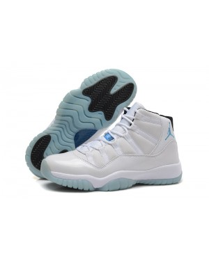 Air Jordan 11 Retro Legend Blue White/Black-Legend Blue For Men and Women AirJordan0190-11