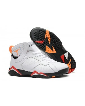 Air Jordan 7 Retro Cardinals White/Black-Cardinal Red-Bronze For Men AirJordan0567-10