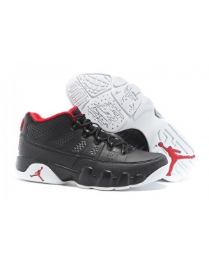 Air Jordan 9 Low Chicago Black/White-Gym Red For Men AirJordan0625-10