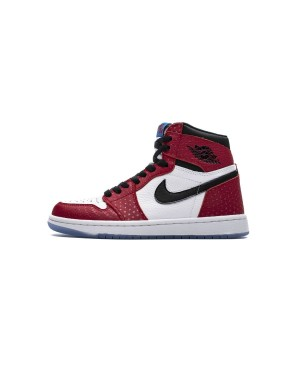 "Air Jordan 1 Retro OG High Gym Rouge/Noir-Blanche ""Origin Story"" 555088-602 Hommes"
