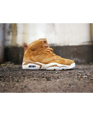 Air Jordan 6 d'or Harvest/Sail 384664-705 Pour Homme