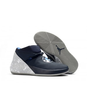 Jordan Why Not Zer0.1 'Georgetown' College Marine Pewter Gris Pour Homme