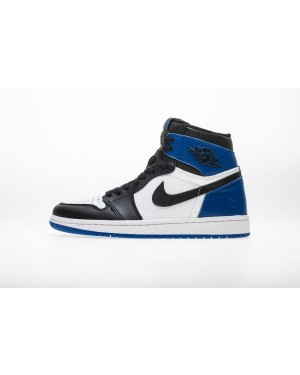 Air Jordan 1 x Fragment Retro OG High Noir/Sport Royal Blanche 716371-040 Hommes FrAirJordan0941-10