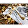 DJ Khaled x Surgeon x Air Jordan 1 Custom Bianco Python and Oro Uomo ItAirJordan0006-01